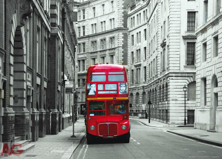 Flis foto tapeta AG London bvs FTNM-2614 | 160x110 cm - Foto tapete