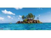 Flis foto tapeta AG Otok u moru FTNH-2727 | 202x90 cm Foto tapete