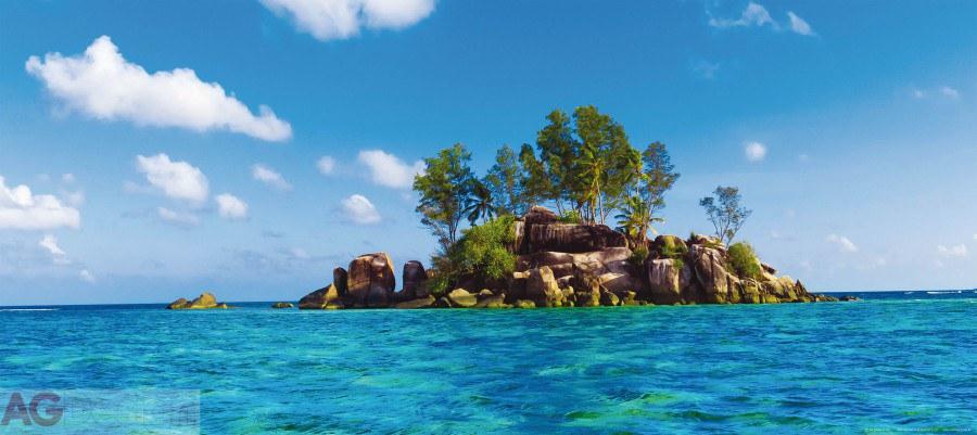 Flis foto tapeta AG Otok u moru FTNH-2727 | 202x90 cm - Foto tapete