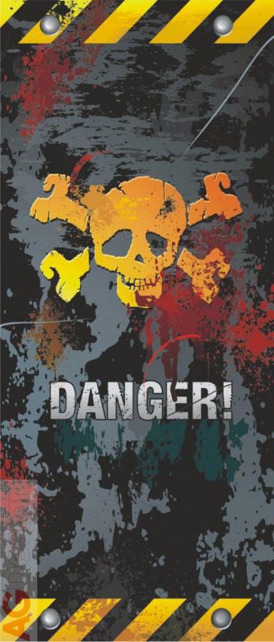 Flis foto tapeta AG Danger FTNV-2834 | 90x202 cm - Foto tapete