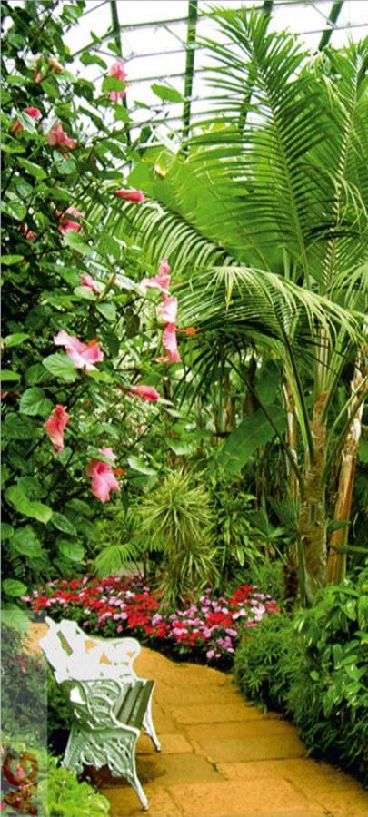 Flis foto tapeta AG Winter Garden FTNV-2864 | 90x202 cm - Foto tapete