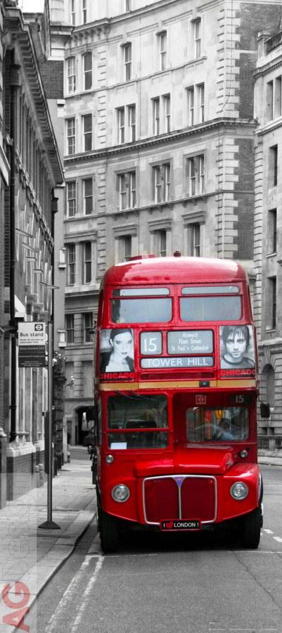 Flis foto tapeta AG London bvs FTNV-2898 | 90x202 cm - Foto tapete