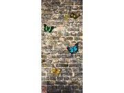 Flis foto tapeta AG Butterfly on the Wall FTNV-2905 | 90x202 cm Foto tapete