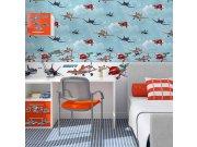 Samoljepliva bordura Planes D90041, 15,9 x 500 cm Naljepnice za dječju sobu
