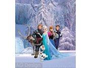 Flis foto tapeta AG Snježno kraljevstuo FTDNXL-5139 | 180x202 cm Foto tapete