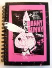Dnevnik Playboy Black i malina A6 bilježnica Posteljina za mlade - Playboy dodaci