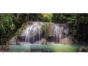 Flis foto tapeta AG Waterfall FTNH-2743 | 202x90 cm Foto tapete