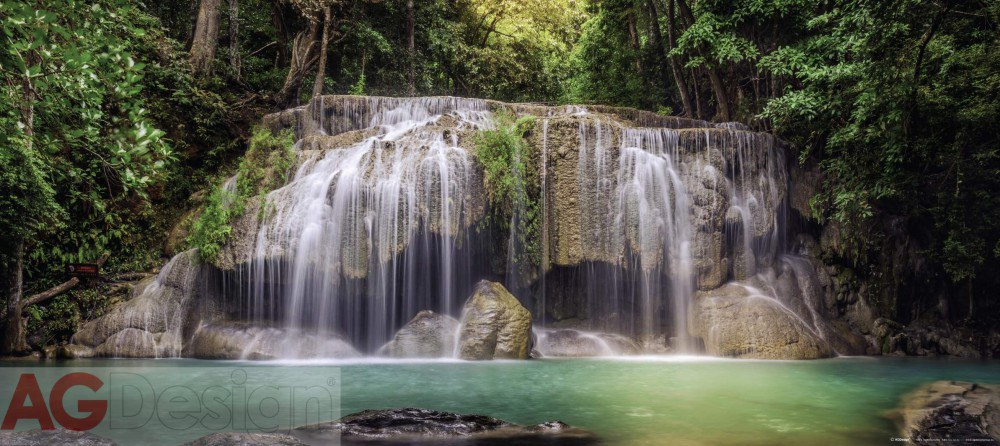 Flis foto tapeta AG Waterfall FTNH-2743 | 202x90 cm - Foto tapete