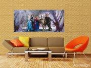Fototapeta Ledové Království FTDNH-5347, rozměry 202 x 90 cm Fototapety pro děti - Fototapety dětské vliesové