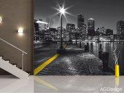 Fototapeta AG Noční město FTS-1317 | 360x254 cm Fototapety na zeď