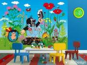 Fototapeta AG Krteček a kalhotky FTNXXL-2422 | 360x270 cm Fototapety pro děti