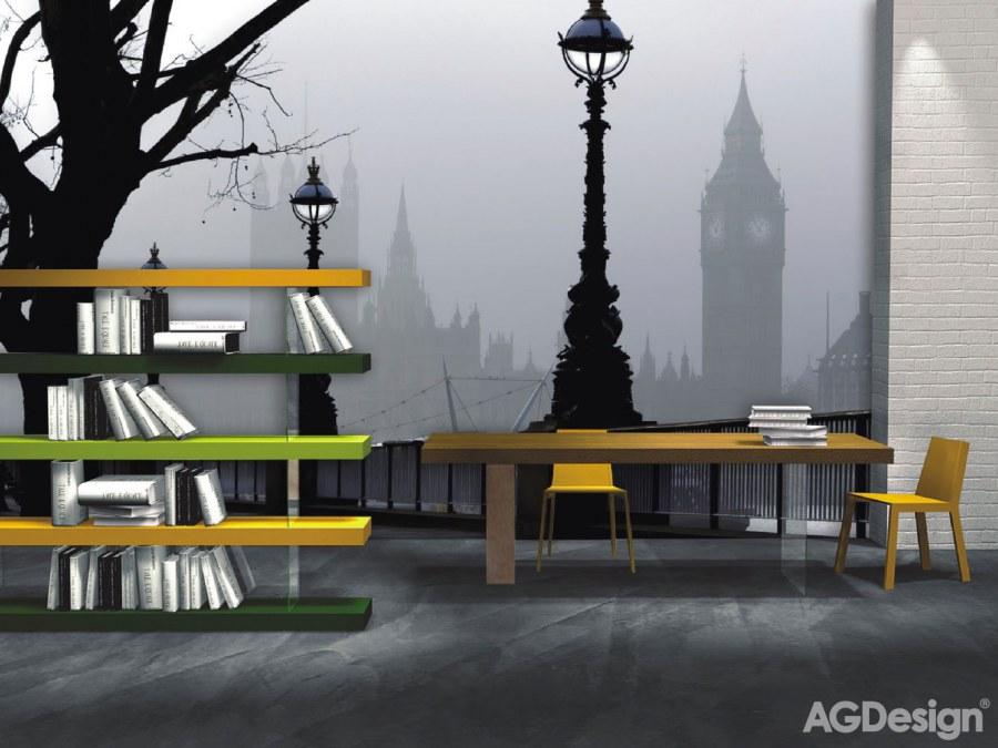 Flis foto tapeta AG Magic London FTNXXL-0307 | 360x270 cm - Foto tapete