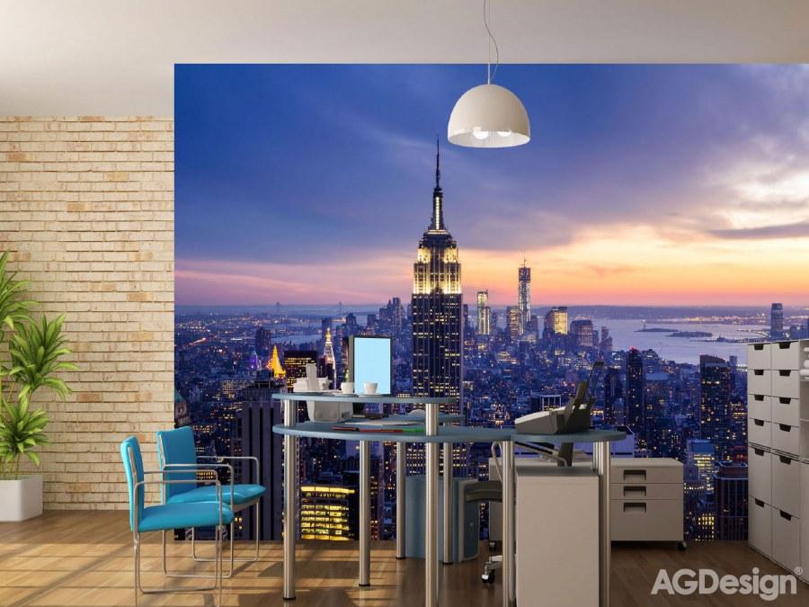 Flis foto tapeta AG New York FTNXXL-2413 | 360x270 cm - Foto tapete