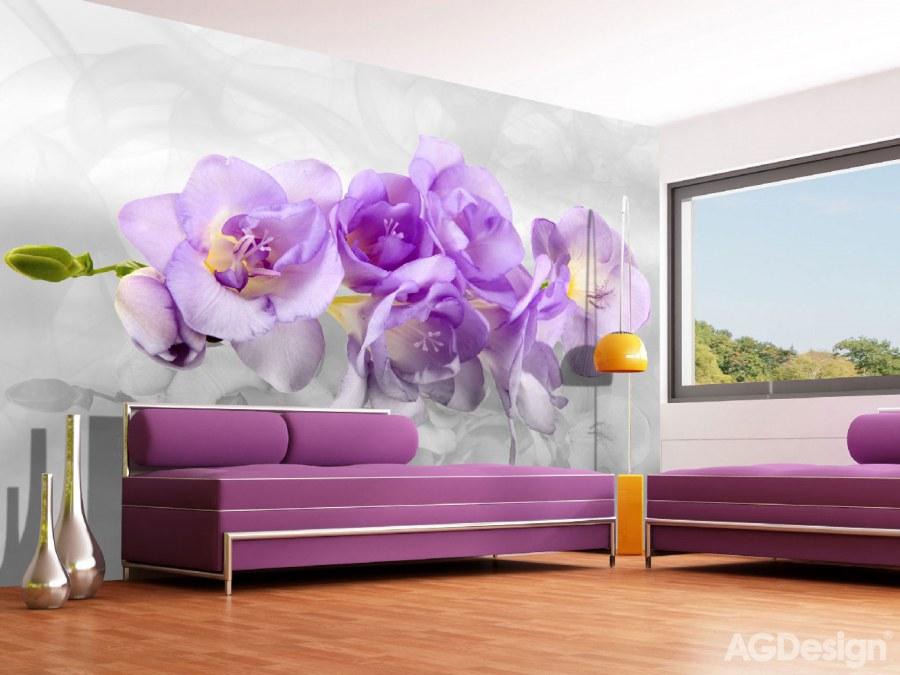 Flis foto tapeta AG Orchid 3d FTNXXL-2400 | 360x270 cm - Foto tapete