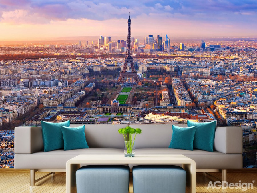 Flis foto tapeta AG Pariz FTNXXL-2401 | 360x270 cm - Foto tapete