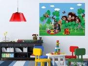Fototapeta AG Krteček a medvědi FTM2659 | 160x110 cm Fototapety pro děti