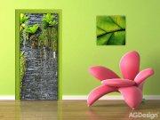Flis foto tapeta AG Green in the wall FTNV-2889 | 90x202 cm Foto tapete