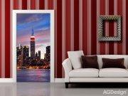 Flis foto tapeta AG N.Y. Sunset FTNV-2887 | 90x202 cm Foto tapete