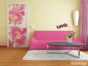 Vliesová fototapeta Růžová Orchidej FTNV-2826 | 90x202 cm Fototapety vliesové - Vliesové fototapety AG