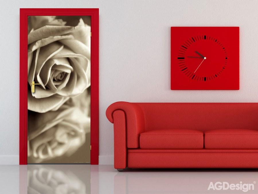 Flis foto tapeta AG Sepia Rose FTNV-2894 | 90x202 cm - Foto tapete