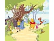 Foto zavjese Winnie Pooh FCPXXL-6012, 280 x 245 cm Foto zavjese