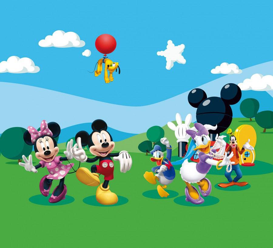 Foto zavjese Mickey Mouse FCCXXL-4008, 280 x 245 cm - Foto zavjese