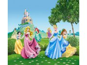 Foto zavjese Princeze kod dvorca FCSXL-4319, 180 x 160 cm Foto zavjese