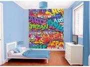 3D foto tapeta Walltastic Graffiti 42827 | 203x243cm Foto tapete