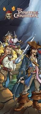 Foto tapeta Pirati iz Kariba D00696 - Foto tapete