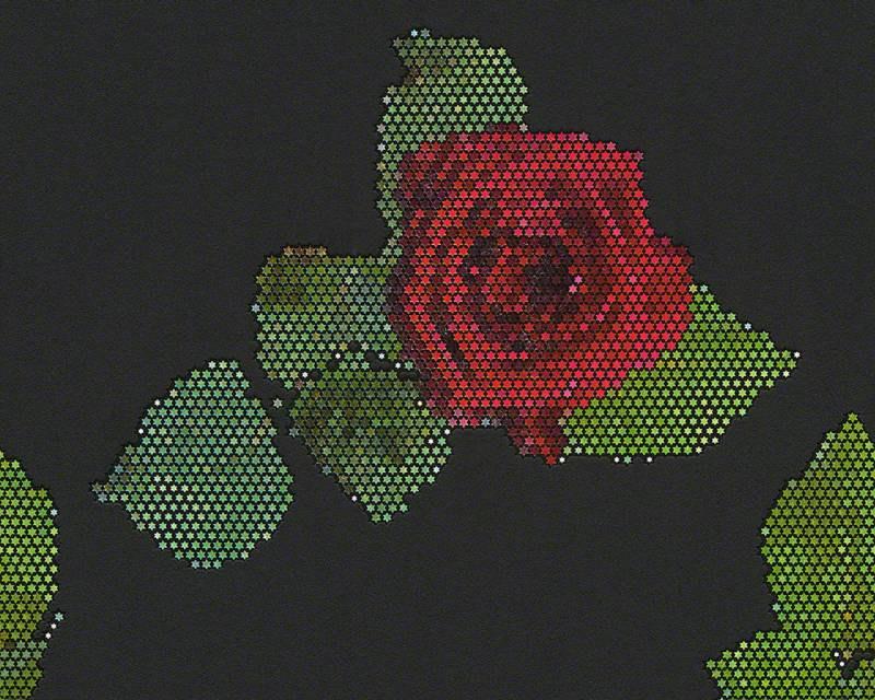 Flis tapeta za zid ružičasti mozaik 94407-3 - Akcija