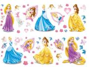 Dječje naljepnice Princeze D40211, 70x50 cm Naljepnice za dječju sobu