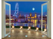 3D foto tapeta Walltastic London 43596 | 305x244 cm Foto tapete