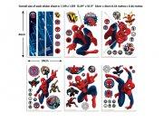 Dječja naljepnica Spiderman 43145 Naljepnice za dječju sobu