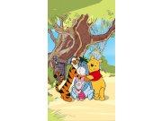 Foto zavjese Winnie Pooh with friends FCSL7110, 140 x 245 cm Foto zavjese