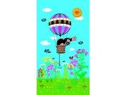 Foto zavjese Krtica u balonu FCSL7511, 140 x 245 cm Foto zavjese