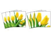 Samoljepljiva dekoracija za pločice Tulips TI-008, 15x15 cm Naljepnice za pločice