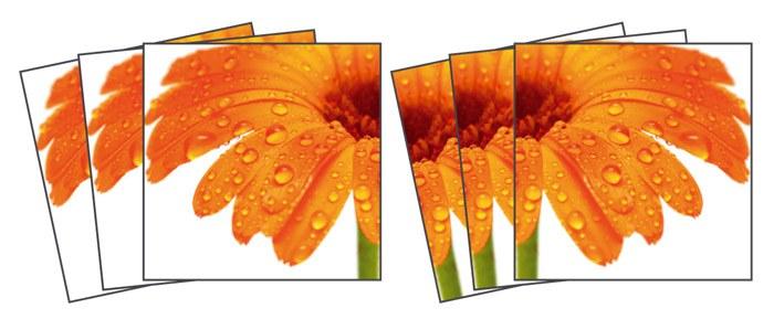 Samoljepljiva dekoracija za pločice Gerbera TI-010, 15x15 cm - Naljepnice za pločice