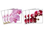 Samoljepljiva dekoracija za pločice Orchids TI-011, 15x15 cm Naljepnice za pločice