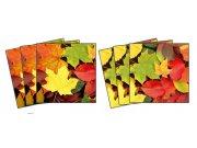 Samoljepljiva dekoracija za pločice Leaves TI-014, 15x15 cm Naljepnice za pločice