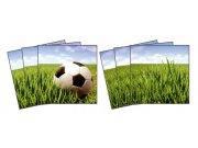 Samoljepljiva dekoracija za pločice Football TI-015, 15x15 cm Naljepnice za pločice