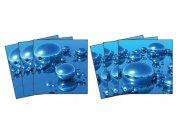 Samoljepljiva dekoracija za pločice Drops TI-016, 15x15 cm Naljepnice za pločice