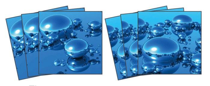 Samoljepljiva dekoracija za pločice Drops TI-016, 15x15 cm - Naljepnice za pločice