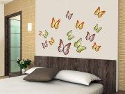 Samoljepljiva dekoracija za zid Butterflies ST1-015, veličina 50 x 70 cm Naljepnice za zid