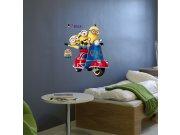 Dječja naljepnica Malci IMAG03, 50x70 cm Naljepnice za dječju sobu