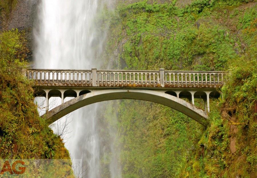 Flis foto tapeta AG Waterfall FTNXXL-0476 | 360x270 cm - Foto tapete