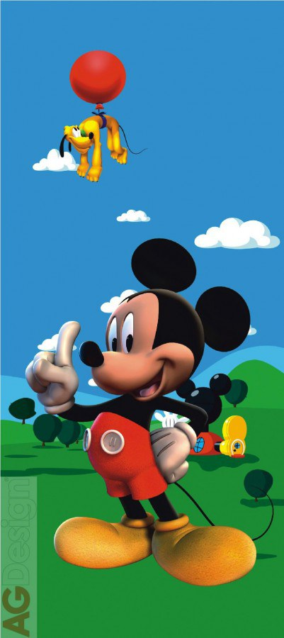 Flis foto tapeta AG Mickey Mouse FTDNV-5407 | 90x202 cm - Foto tapete
