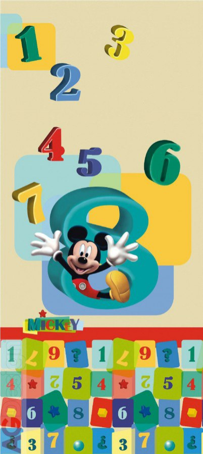 Flis foto tapeta AG Mickey Mouse FTDNV-5413 | 90x202 cm - Foto tapete