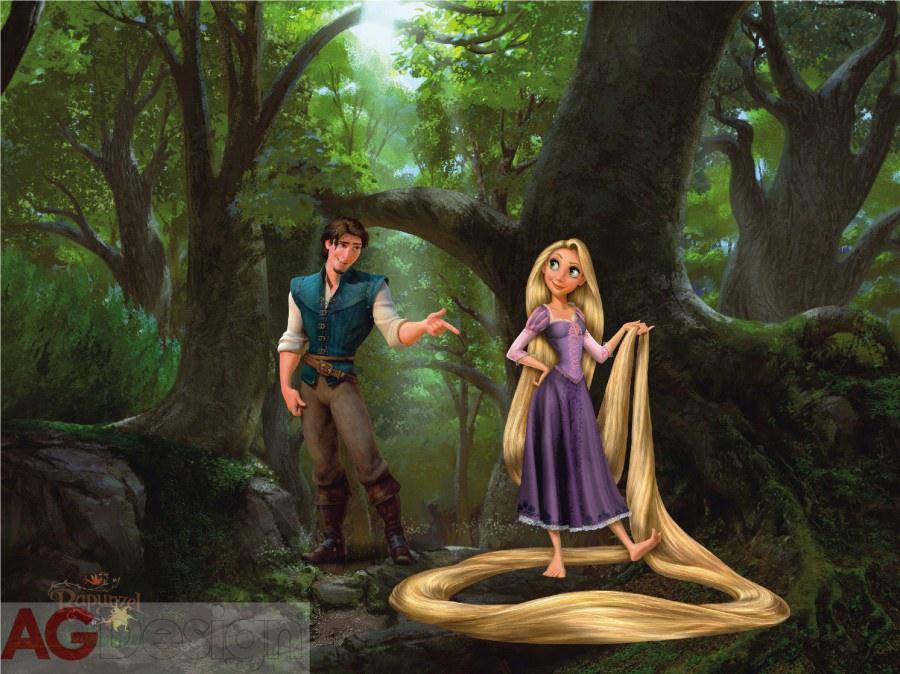 Foto tapeta AG Rapunzel FTDXXL-0244 | 360x270 cm - Foto tapete