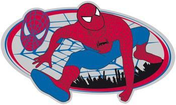 Dječje naljepnice Spiderman D23568, 53x28 cm - Naljepnice za dječju sobu